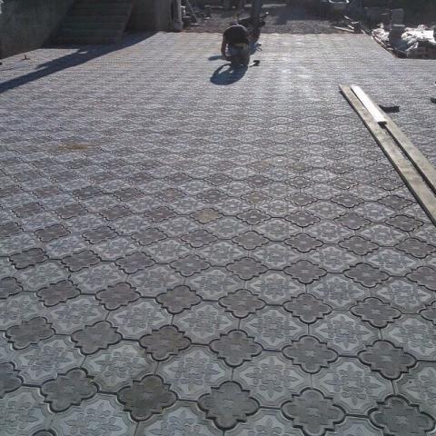 Услуги по укладке тротуарной плитки